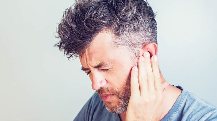 Facial numbness mastoid inflammed recommend